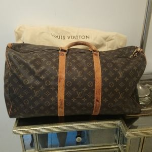 Vintage authentic Louis Vuitton keepall.